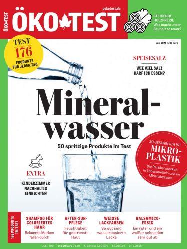 Cover: Öko-Test Magazin No 07 Juli 2021