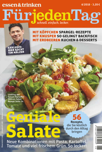 :  Essen und Trinken für jeden Tag Magazin Juni No 06 2018