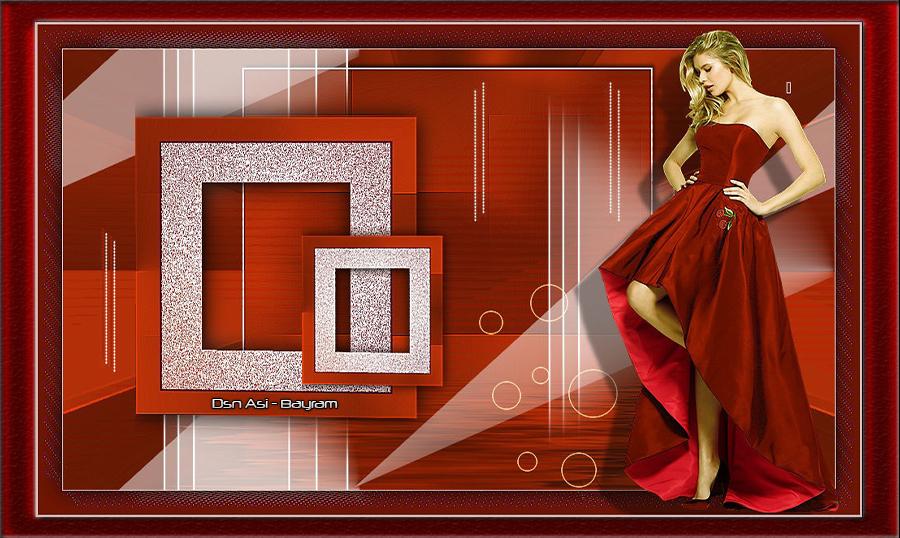 Kırmızılım Bayan Grafik E Kart