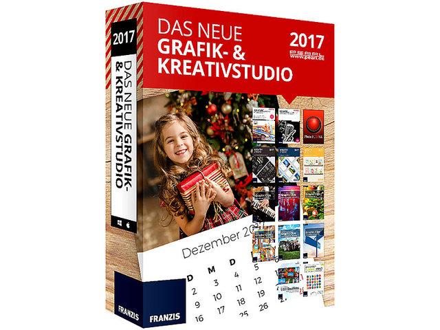 : Das große Franzis/Grafik- und Kreativ-Paket 2016