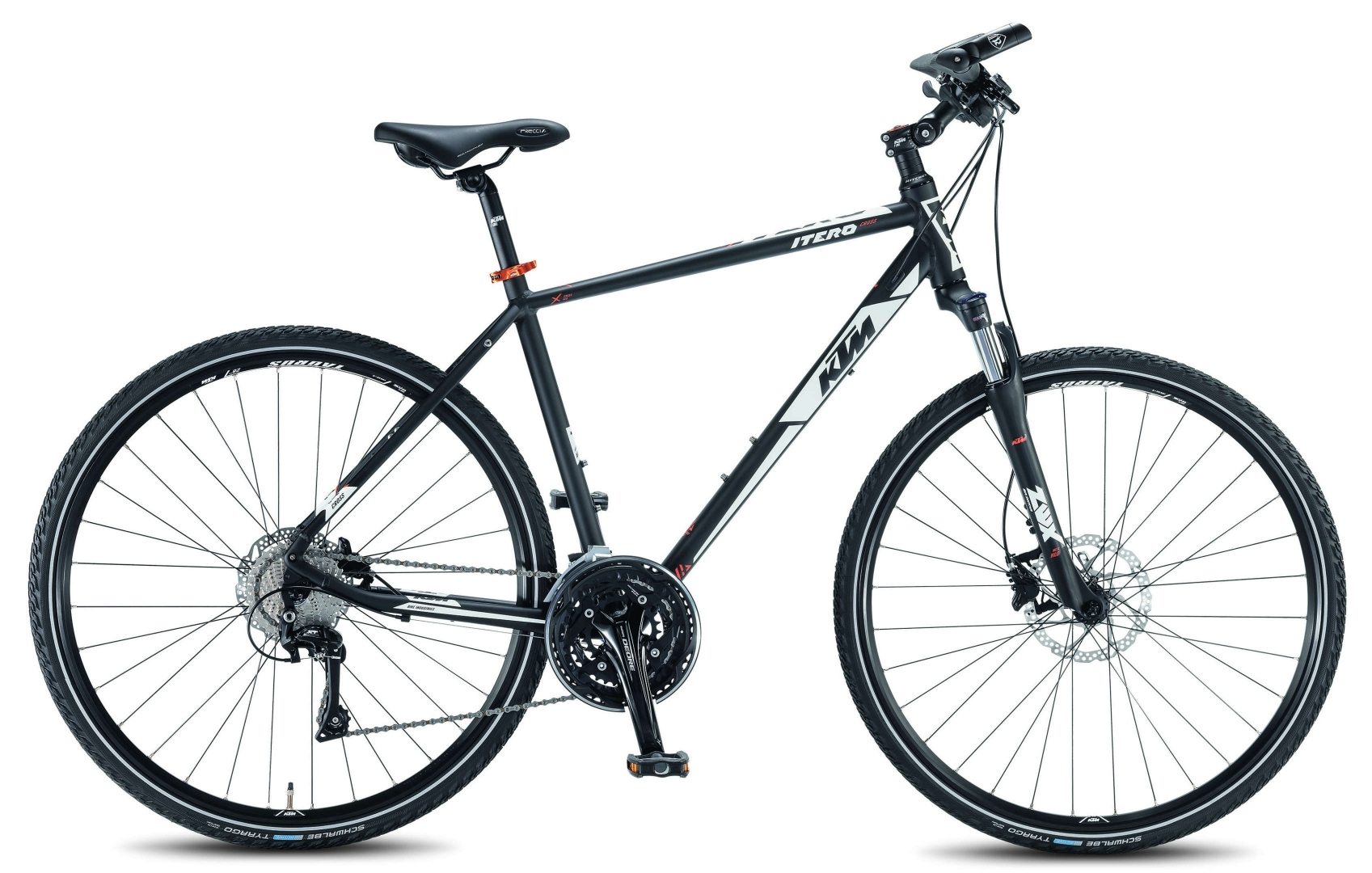 herren crossbike ktm itero cross 28 zoll fahrrad shimano 30 gang schwarz 51 cm ebay. Black Bedroom Furniture Sets. Home Design Ideas