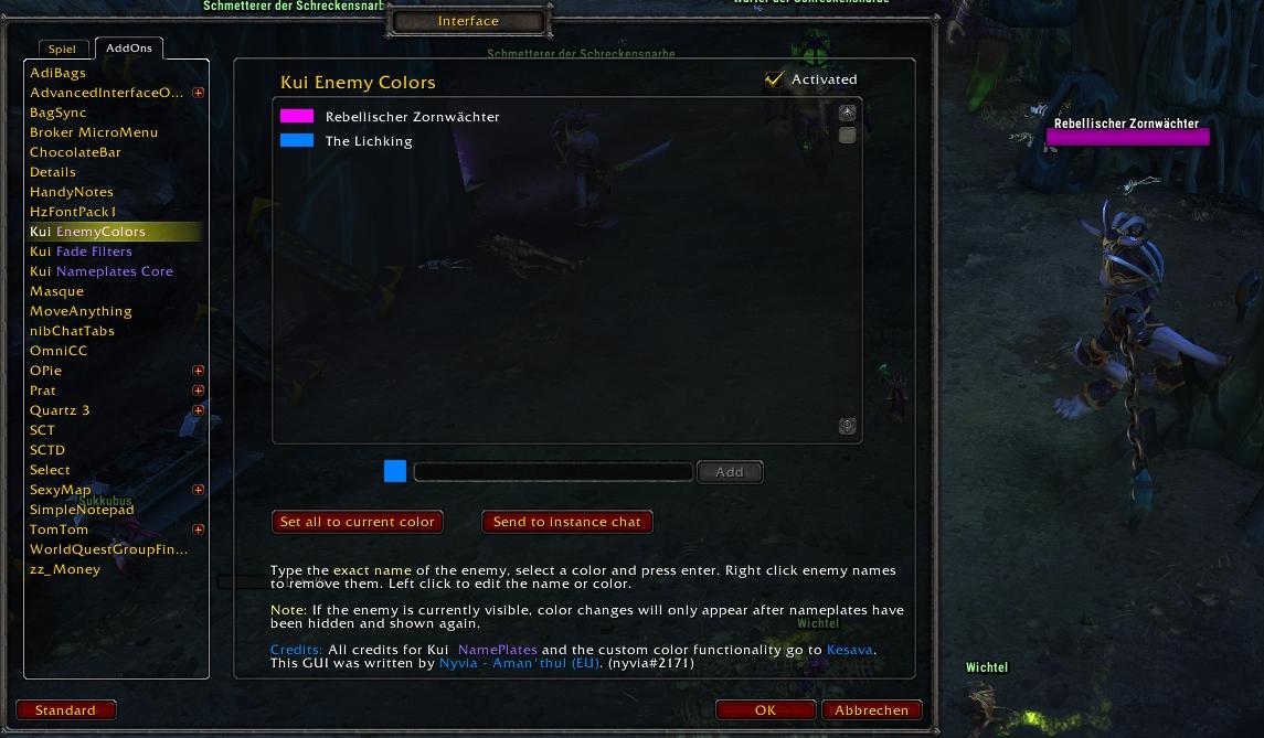 KuiNameplates - Addons - World of Warcraft - CurseForge