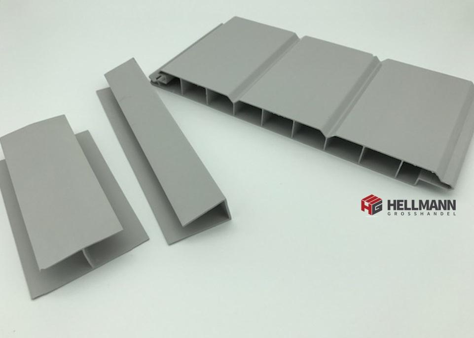 dach und wandpaneele aus kunststoff au en und innenbereich 16 mm stark grau ebay. Black Bedroom Furniture Sets. Home Design Ideas
