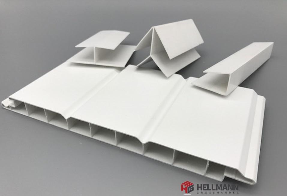 Neu dach und wandpaneele aus kunststoff au en und innenbereich 16 mm weiss ebay - Wandpaneele kunststoff innen ...