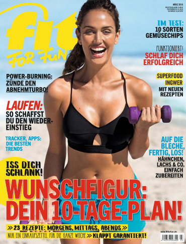 :  Fit For Fun Magazin März No 03 2018