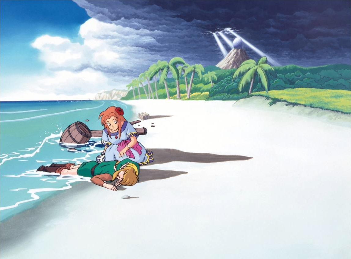 Lttp The Legend Of Zelda Links Awakening Dx Large Images Warning