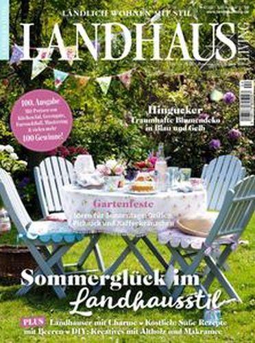Cover: Landhaus Living Magazin No 04 Juli-August 2021