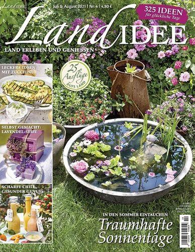 Cover: Landidee Magazin erleben und geniessen No 04 2021