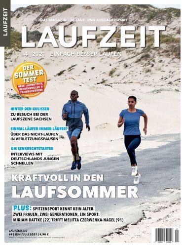 Cover: Laufzeit Magazin No 04 Juni-Juli 2021