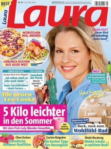 Cover: Laura Frauenmagazin No 25 vom 16  Juni 2021