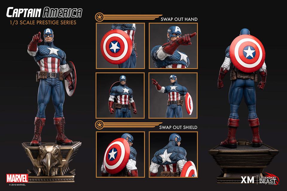 Premium Collectibles : Captain America 1/3 Lbs_captain-america_0eojte