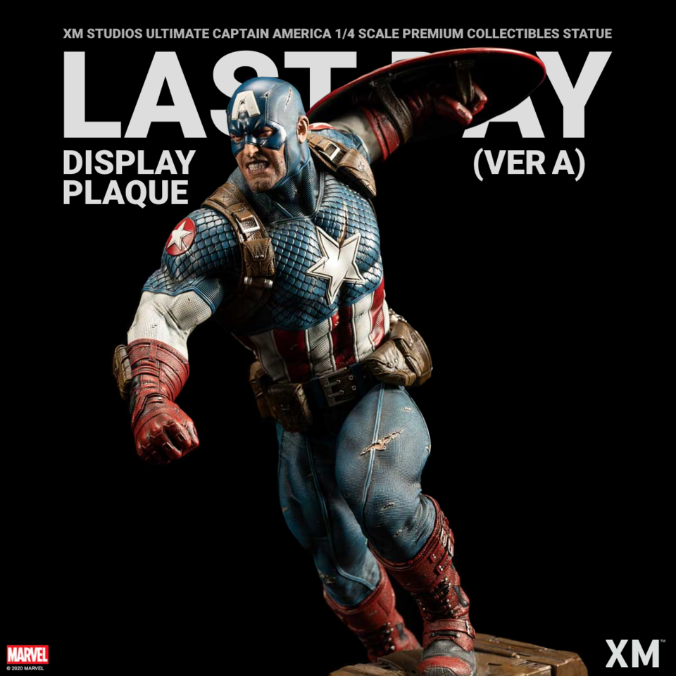 Premium Collectibles : Captain America Ultimate 1/4 Statue Ldpveraspkax