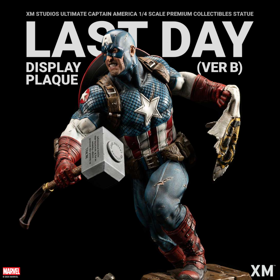 Premium Collectibles : Captain America Ultimate 1/4 Statue Ldpverb1ck67