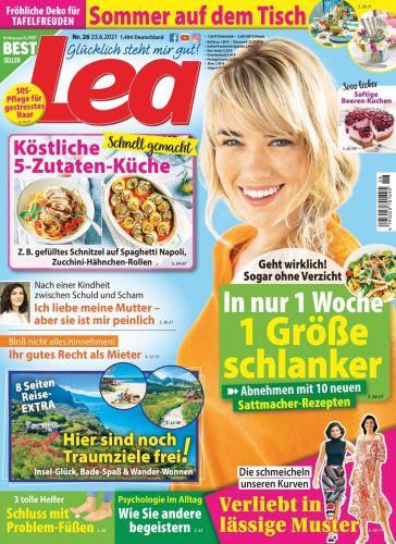 Cover: Lea Frauenmagazin No 26 vom 23  Juni 2021