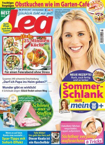 Cover: Lea Frauenmagazin No 27 vom 30  Juni 2021