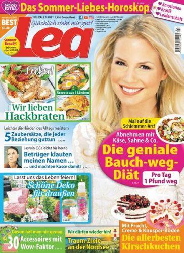 Cover: Lea Frauenmagazin No 24 vom 09  Juni 2021