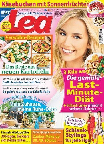 Cover: Lea Frauenmagazin No 28 vom 07  Juli 2021