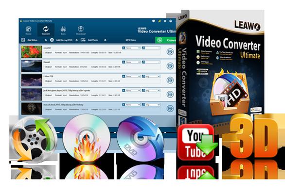 download Leawo Video Converter Ultimate v8.0