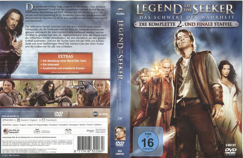 Legend Of The Seeker Staffel 1