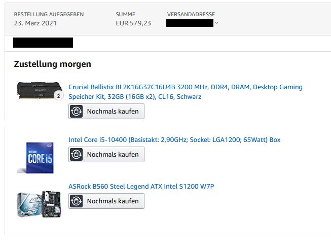 """lga1200upgrade2tj82 - Der """"als letztes gekauft"""" Thread (Part 2)"""