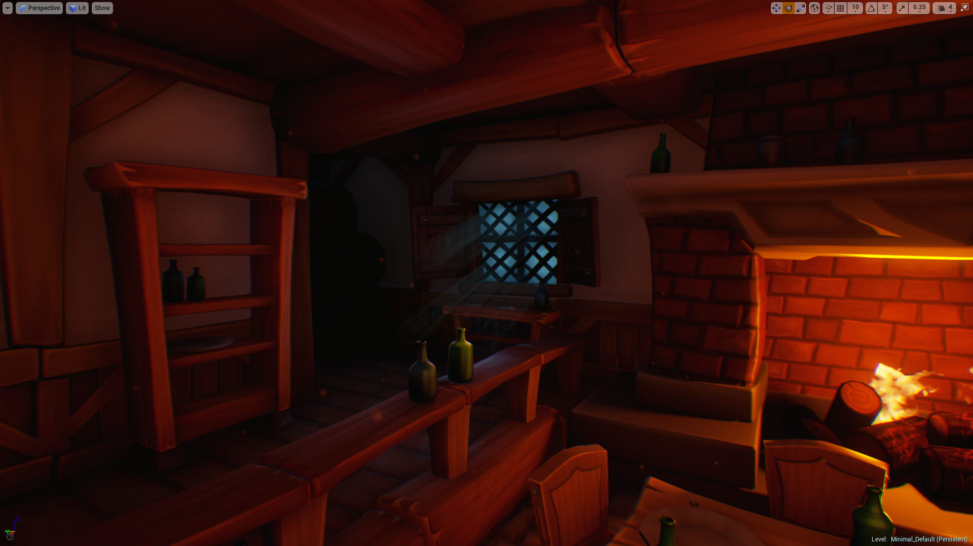 Handpainted Environment [UE4] — polycount