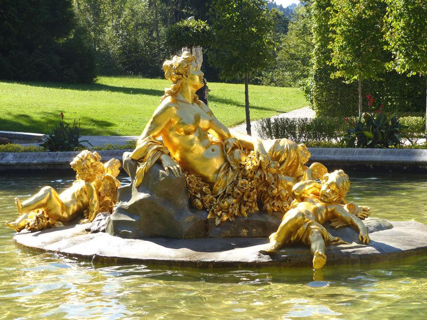 Linderhof Gde Ettal Schloss Und Park Galerie Galerie Architekturforum Architectura Pro Homine