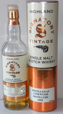 Linkwood 1995/2013 Signatory Vintage Flasche