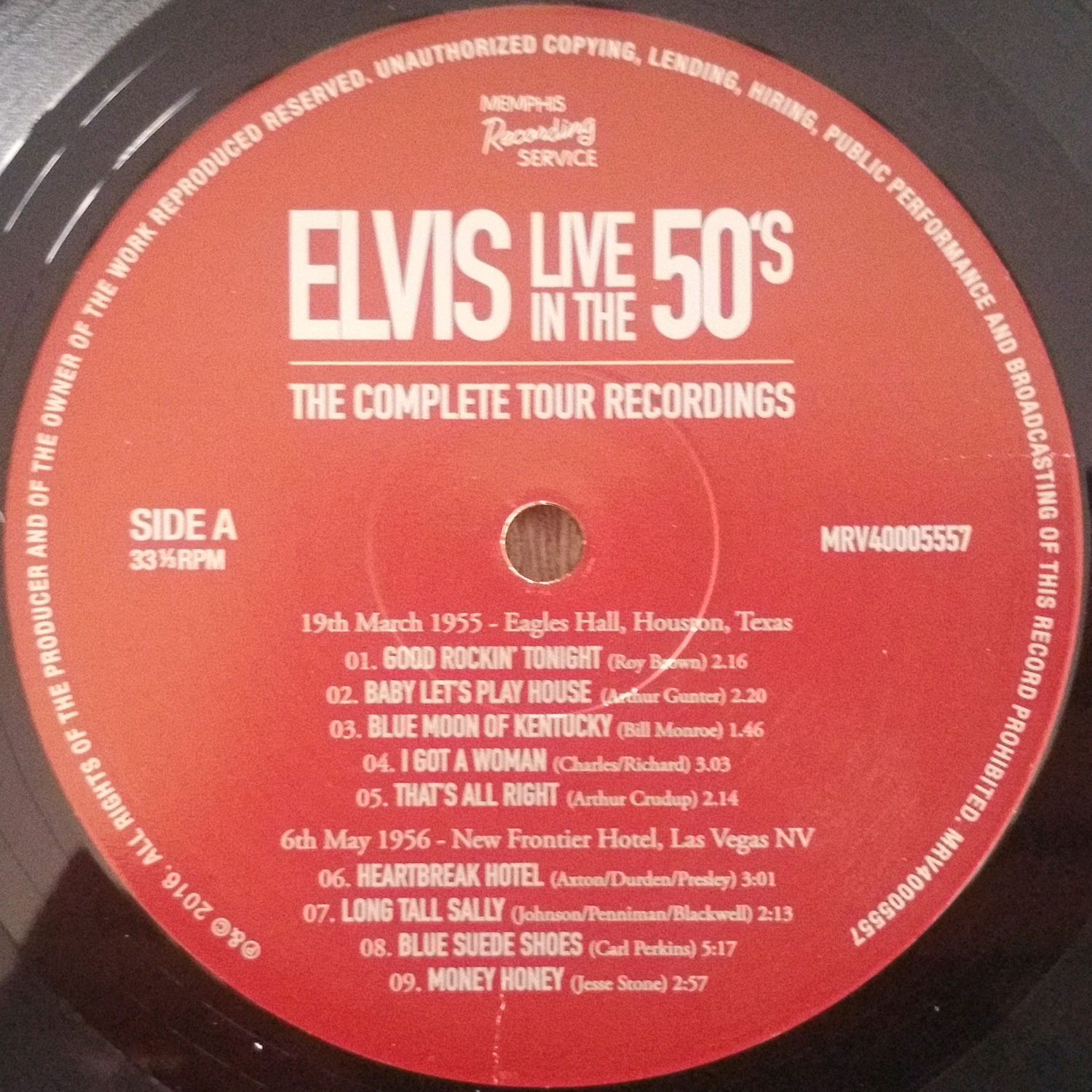 LIVE IN THE 50's (The Complete Tour Recordings) Liveinthe50s-thecompl8bka3