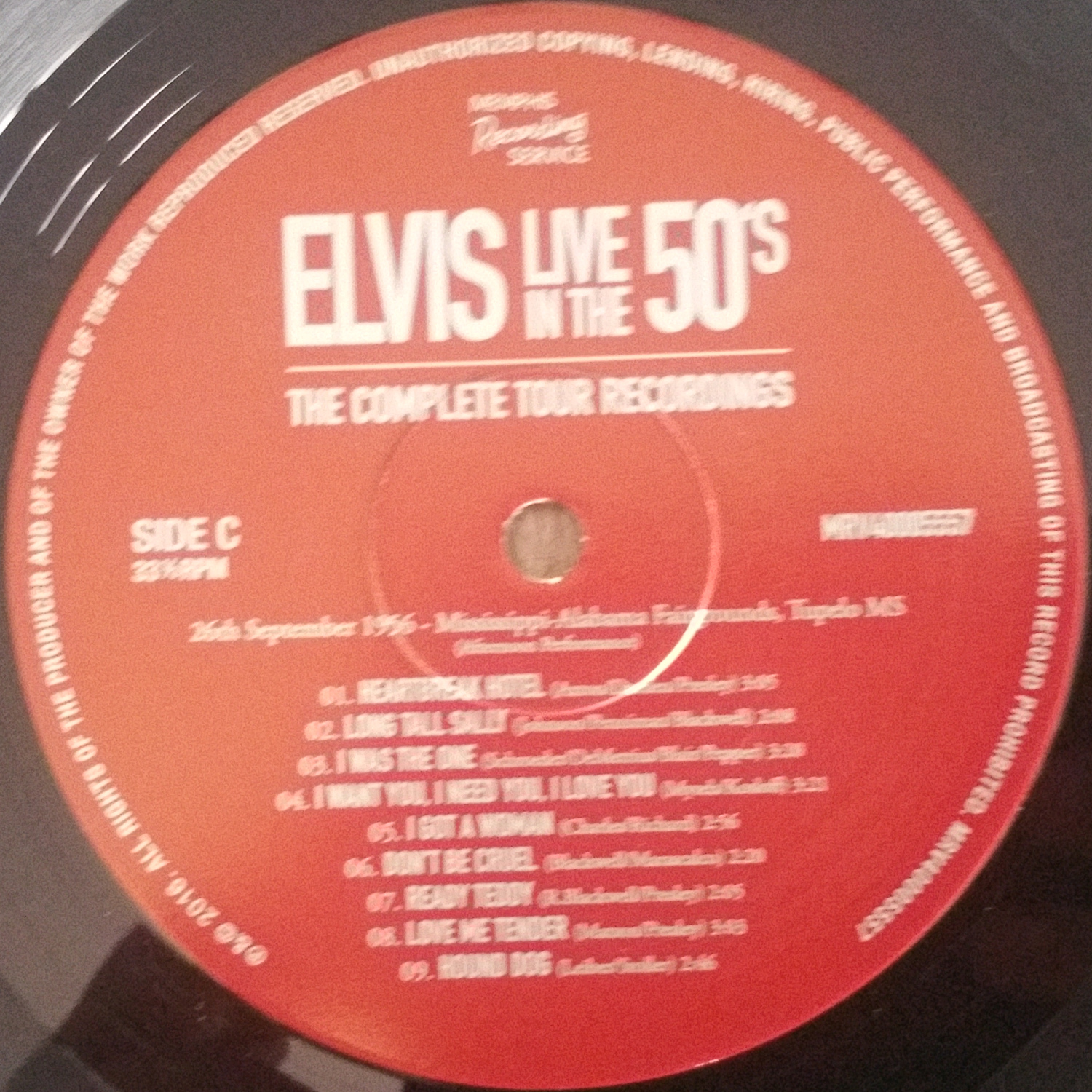 LIVE IN THE 50's (The Complete Tour Recordings) Liveinthe50s-thecomplfuj54