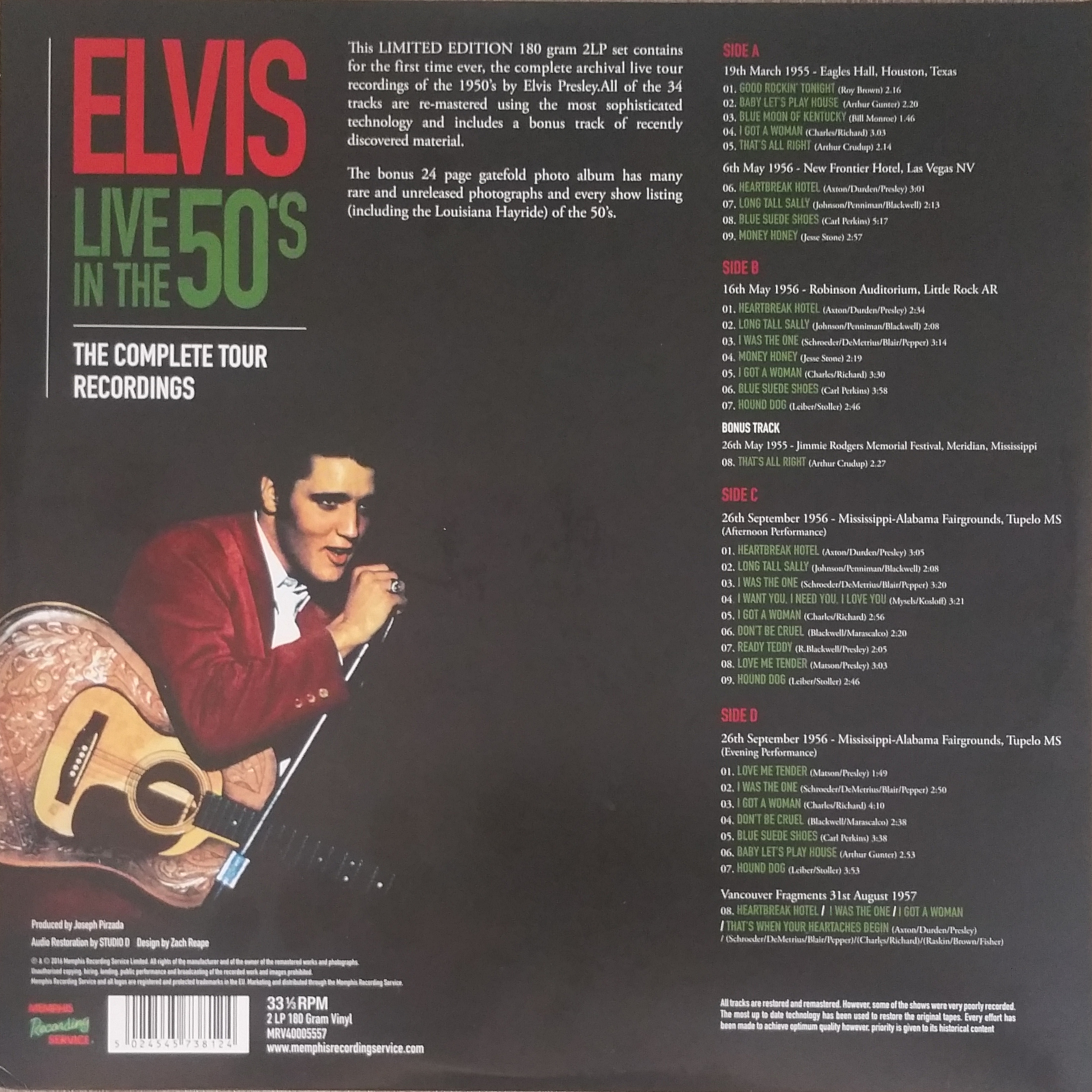 LIVE IN THE 50's (The Complete Tour Recordings) Liveinthe50s-thecomplfyki3