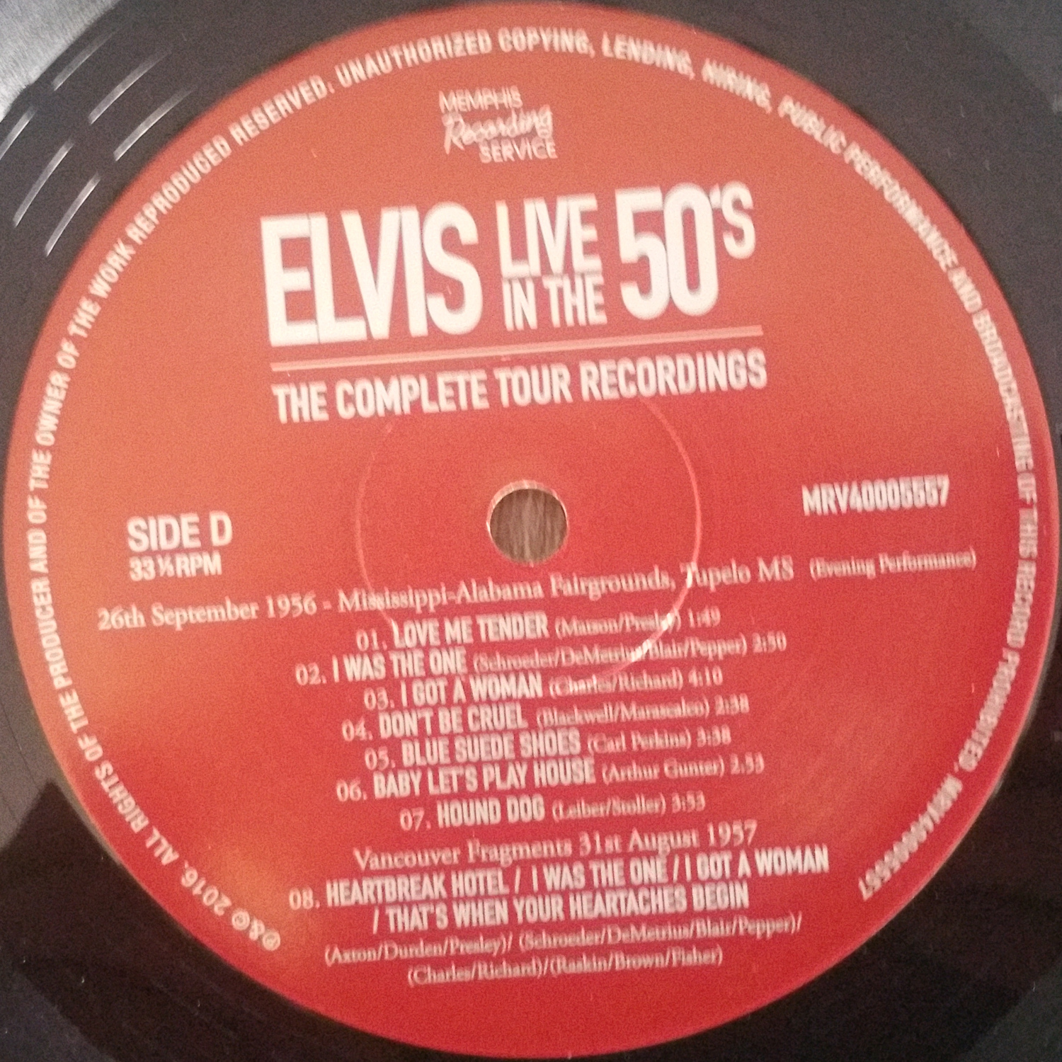 LIVE IN THE 50's (The Complete Tour Recordings) Liveinthe50s-thecompllhke2