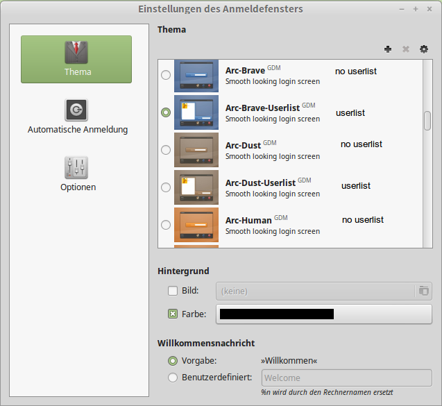 How to have unlisted users? - Linux Mint Forums