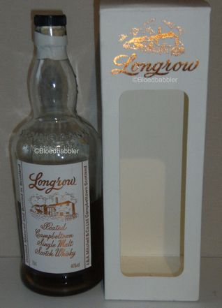 Longrow peated Flasche
