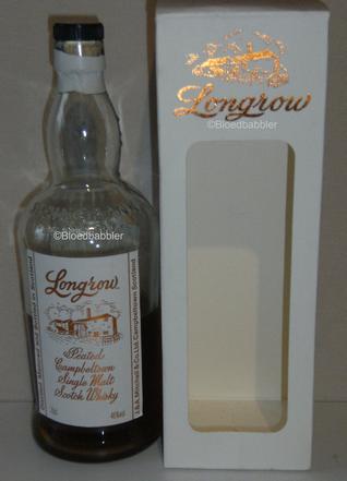 Longrow peated Flasche