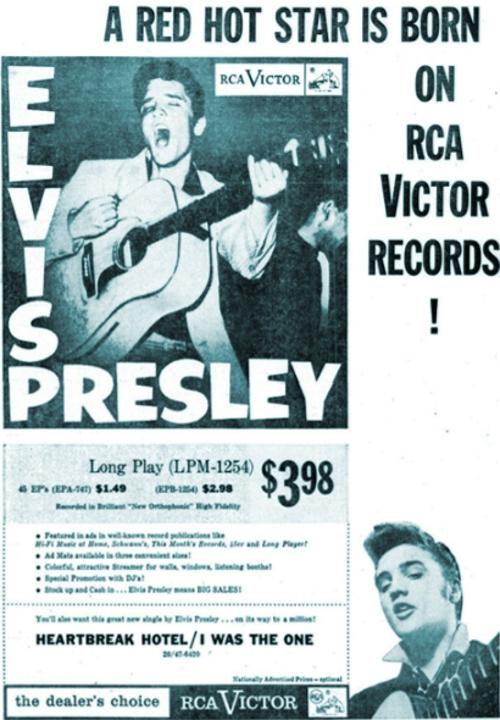 1956 - ELVIS PRESLEY Lpm125436u0e