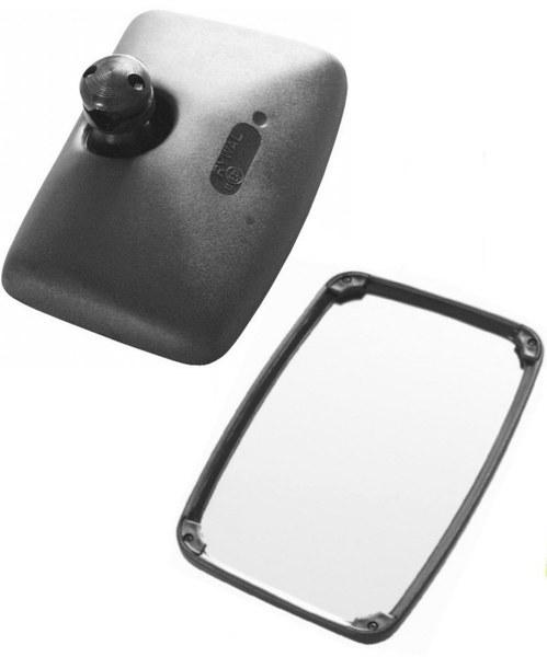 Außenspiegel Rückspiegel  ø14-22 mm LKW Bagger Traktor Baumaschinen 245x160mm