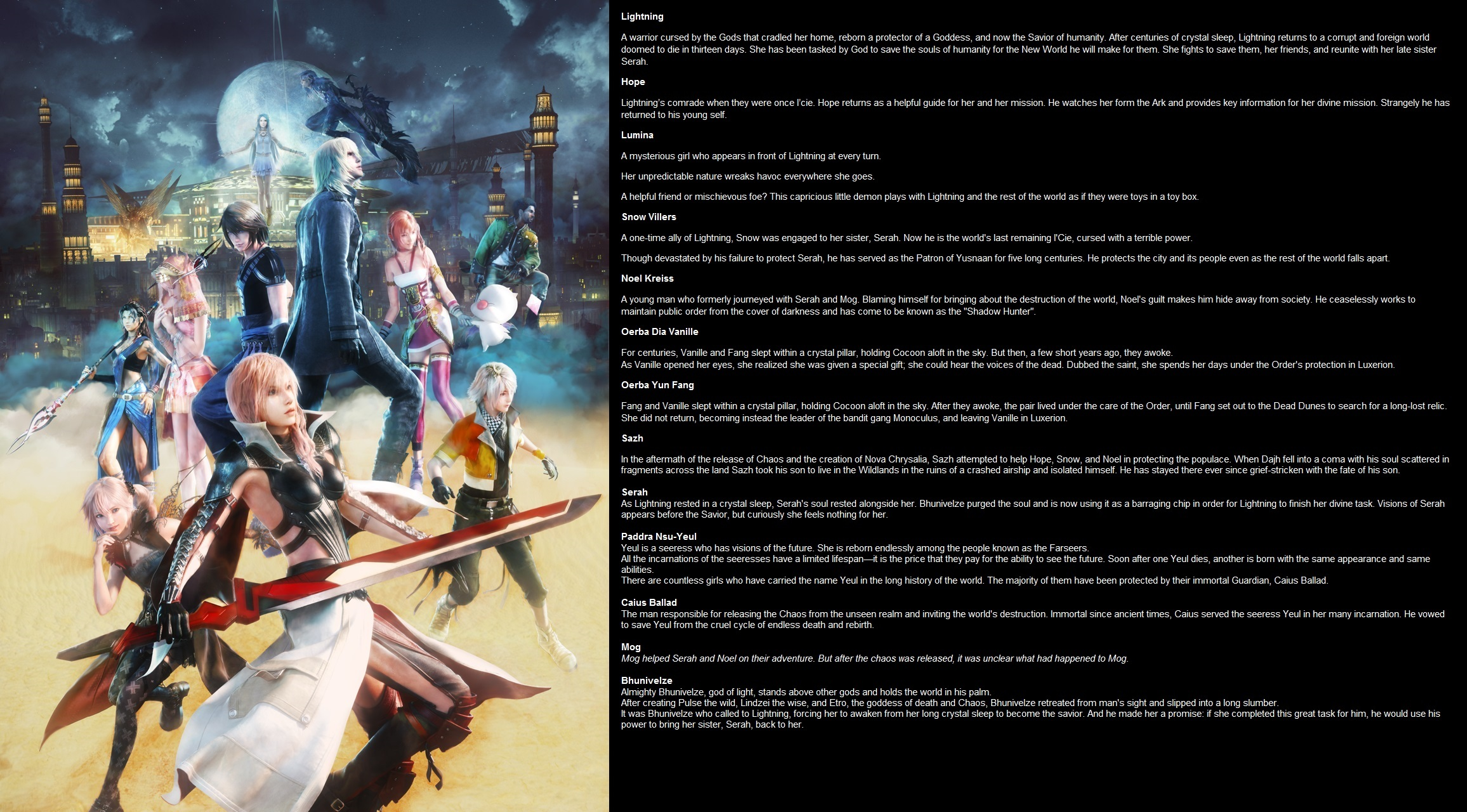 Lightning Returns: FINAL FANTASY XIII PC |OT| Light Eternal | NeoGAF