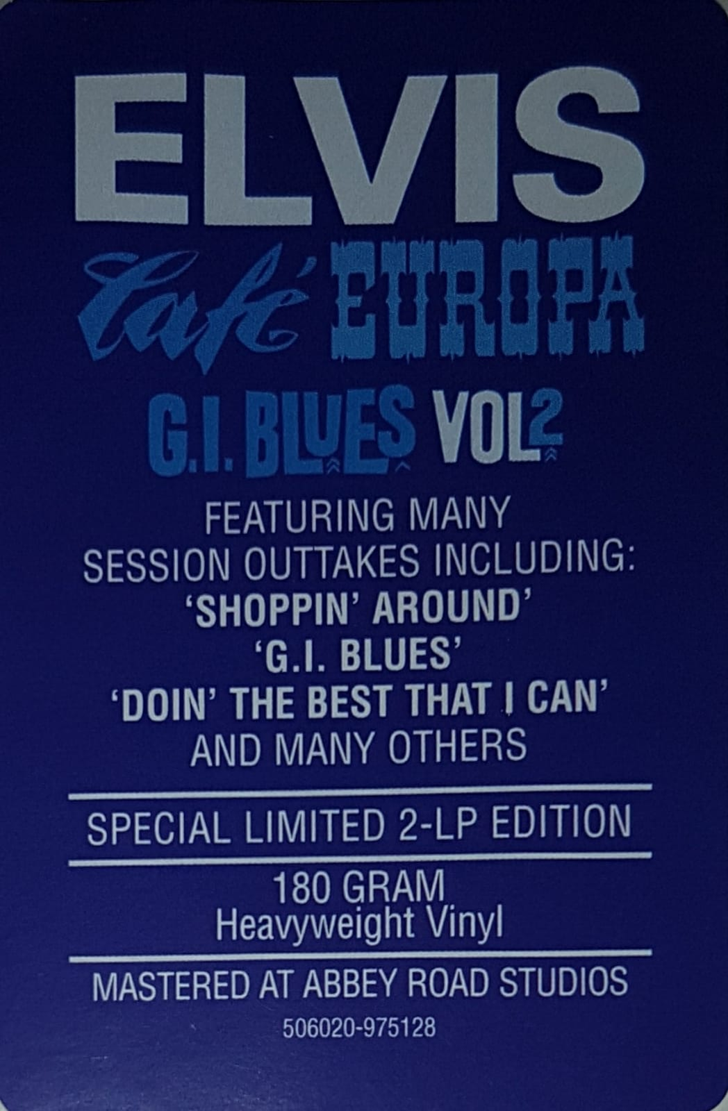 G.I. BLUES VOL. 2 - CAFÉ EUROPA SESSION Lsp-2256-3ibukzj
