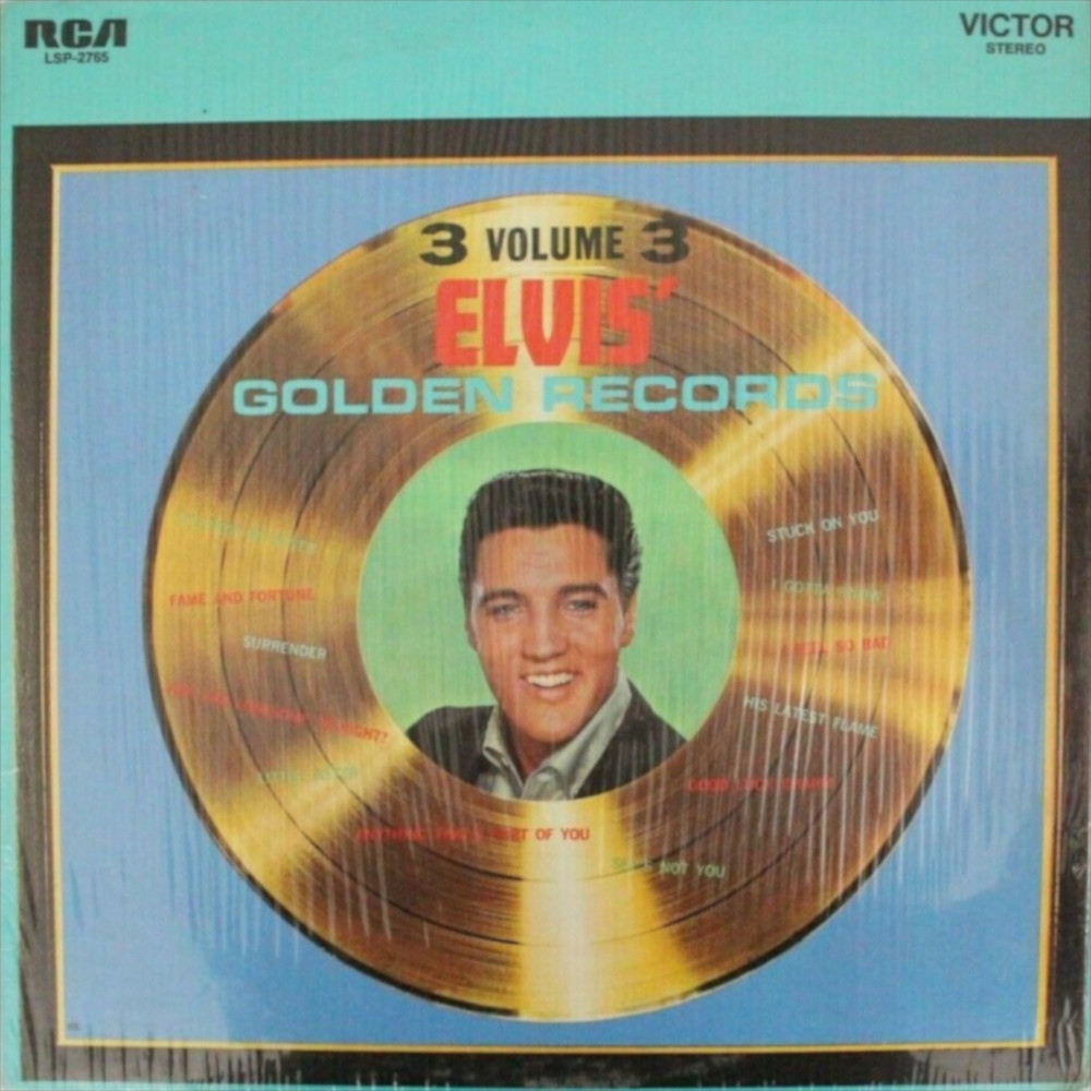 ELVIS' GOLD RECORDS VOL 3 Lsp-2785-77-11jkfy