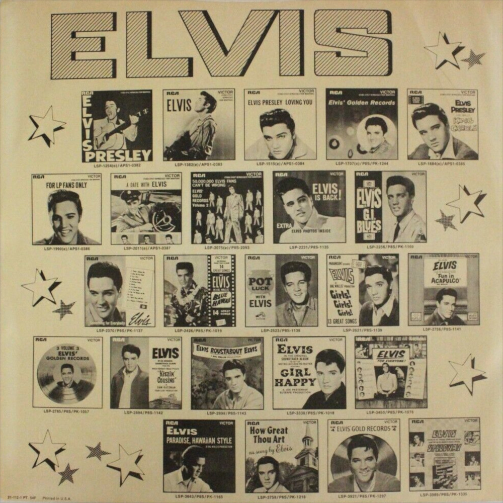 ELVIS' GOLD RECORDS VOL 3 Lsp-2785-77-52kjlt