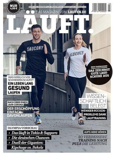 Cover: Läuft  Das Magazin von laufen No 03 2021