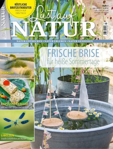 Cover: Lust auf Natur Magazin No 07 2021