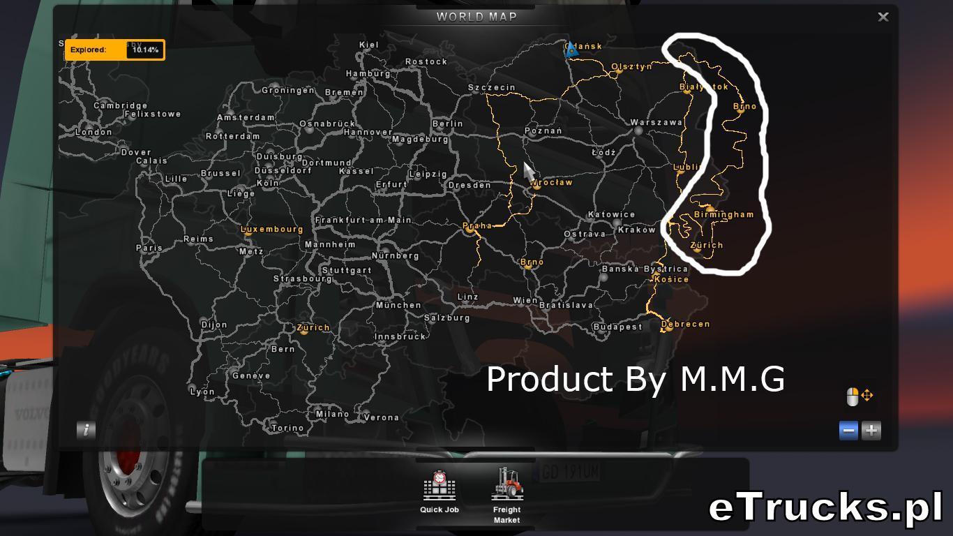 Ets2 M M G Map Ets2