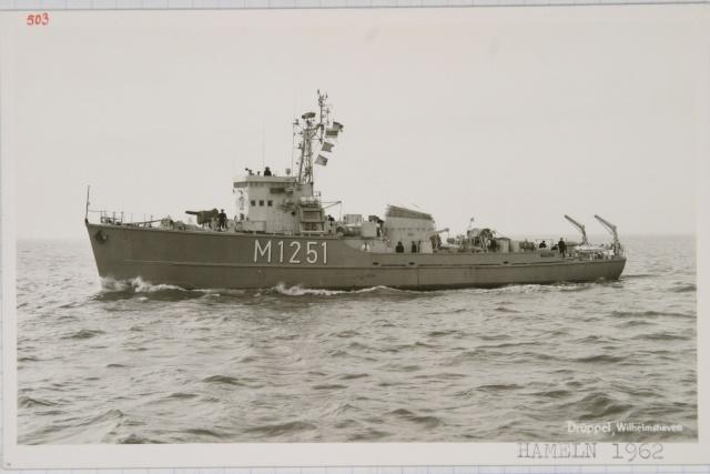 Démineur Mercure classe de la Federal Navy 1: 250 M1251hamelnwzj6c