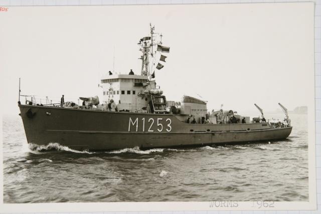 Démineur Mercure classe de la Federal Navy 1: 250 M1253wormsoojyp