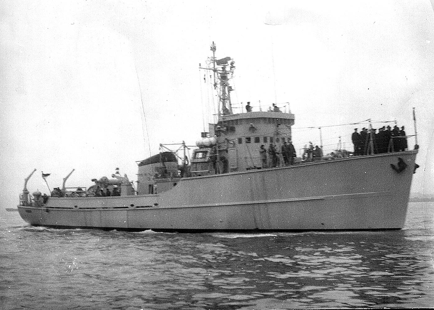 Démineur Mercure classe de la Federal Navy 1: 250 M1254-probefahrtkvj2q