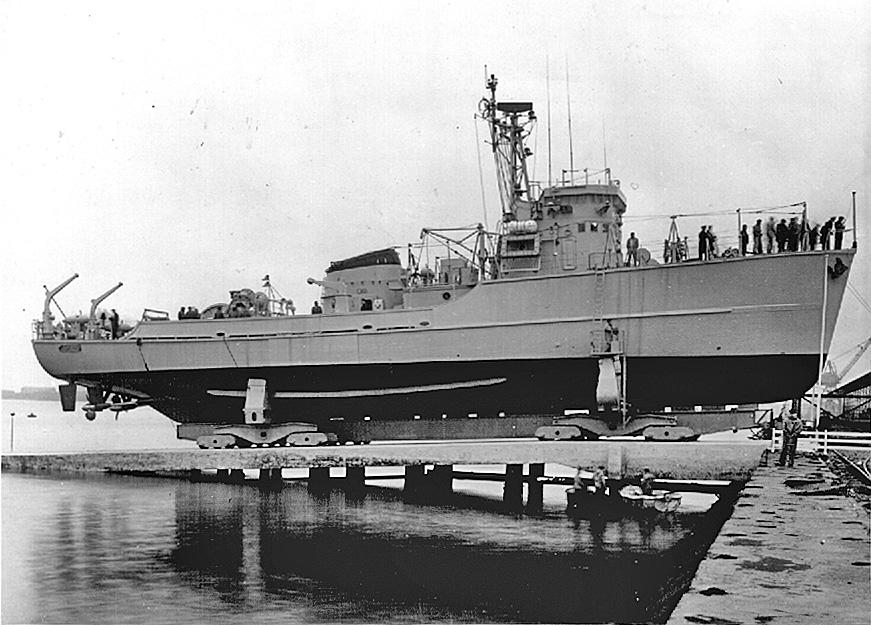 Démineur Mercure classe de la Federal Navy 1: 250 M1254-slip-cherbourgmpjo5