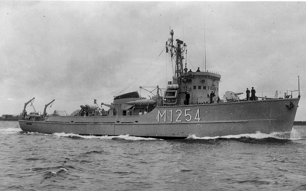 Démineur Mercure classe de la Federal Navy 1: 250 M1254-stbseit-luja2