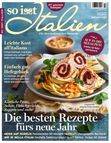: So isst Italien Magazin Februar-März No 02 2018