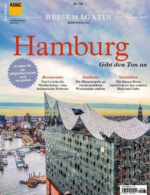 ADAC-Reisemagazin (Hamburg) Januar-Februar No 168 2019